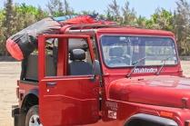 ADVENTURE MANDWA WITH KITESURFER JEHAN DRIVER